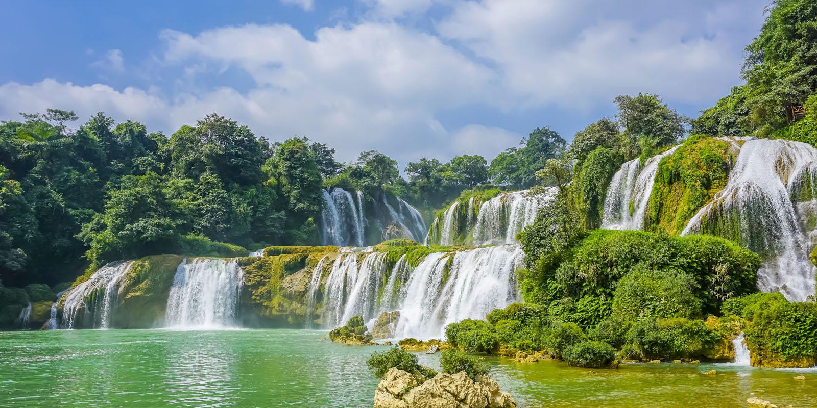 cascate asia suoni natura umore
