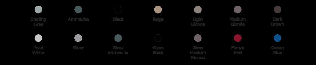 LiNX Quattro - colori disponibili