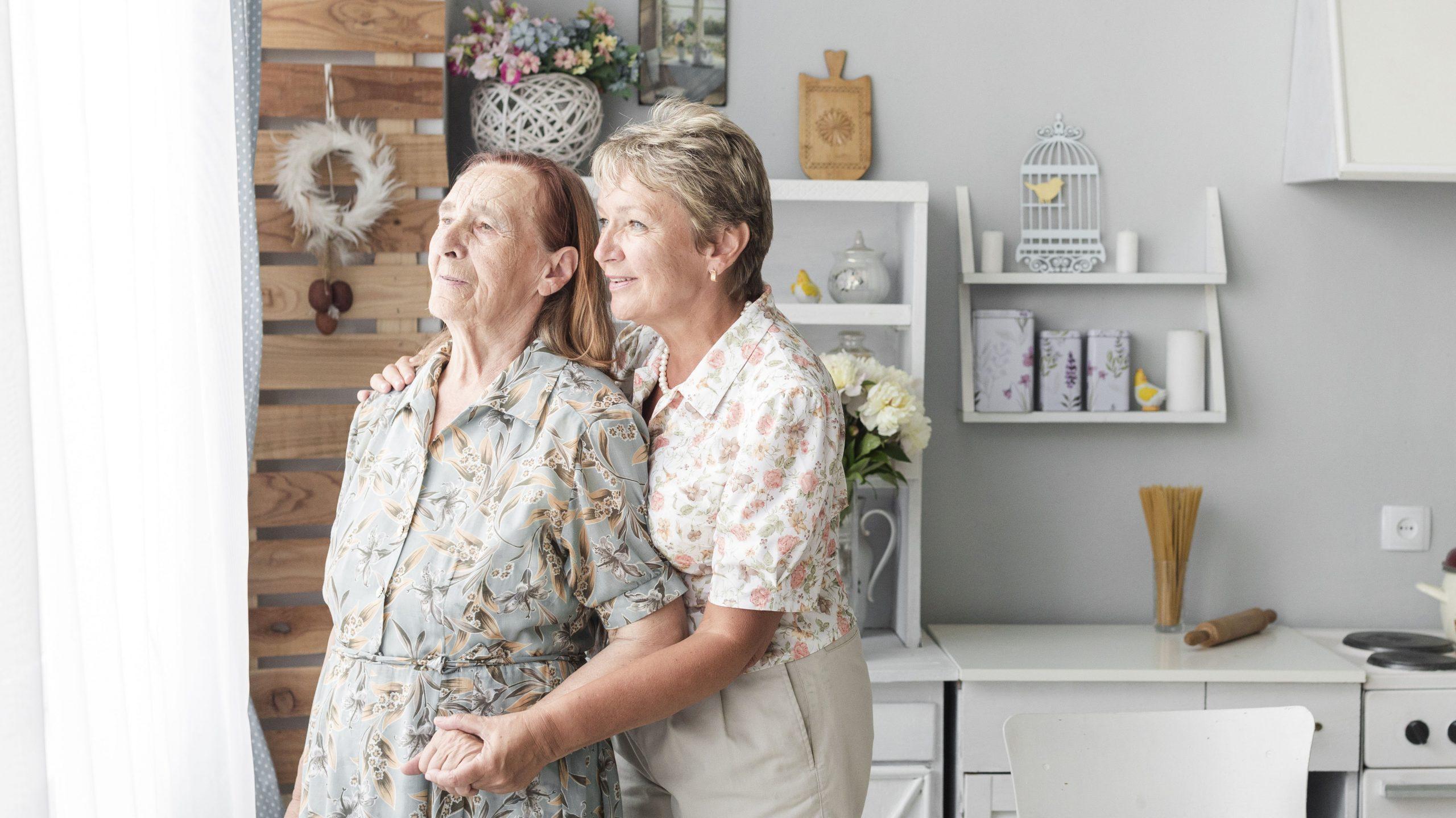 mamma anziana perdita udito sordità