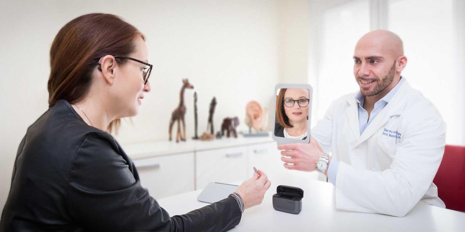 La terapia riabilitativa con apparecchi acustici